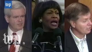 Then and now: How Congress handled Clinton and Trump impeachment threats