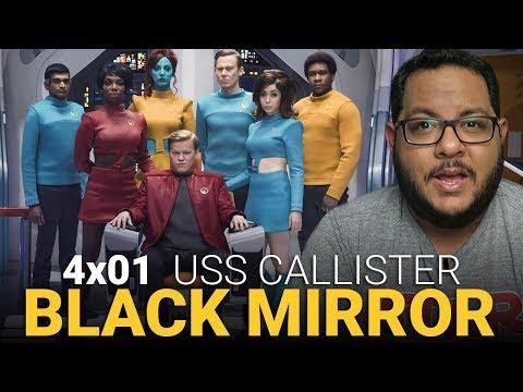 BLACK MIRROR 4x01: Quem mexeu no meu Star Trek? | Crítica