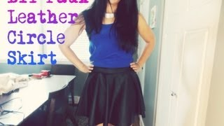 DIY Fashion: DIY Circle Skirt/Skater Skirt