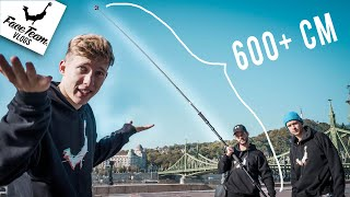 The world's longest selfie stick can do this!