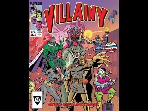 Board Game Brawl Reviews - Villainy