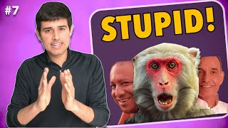 Stupidity & Ache Din in UP | Ep.7 The Dhruv Rathee Show [Science, Evolution, SBI Bank Fees ]