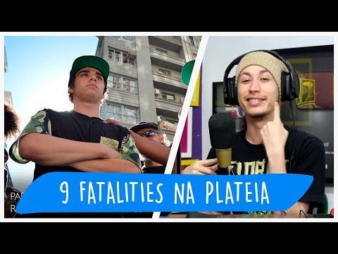 REACT 9 FATALITYS SOFRIDOS PELA PLATÉIA! (RimasCompilation)