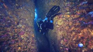 Diving in Gozo (Malta) Blue Hole