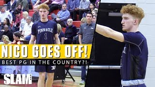 Nico Mannion CAN'T BE STOPPED! 😈 Best PG in the Country?!