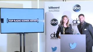 Top Radio Songs Artist Finalists - BBMA Nominations 2015