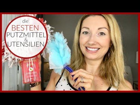 DIE BESTEN PUTZMITTEL/PUTZUTENSILIEN | BeautyThoughtsbyAlex