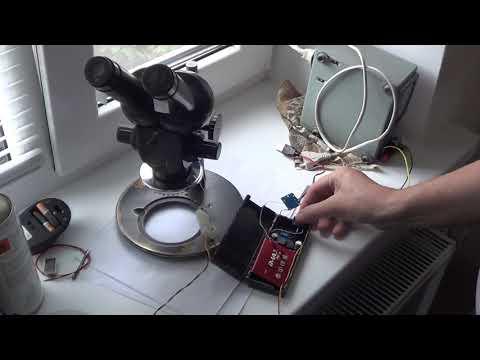 БП питания подсветки для микроскопа