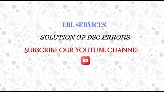 DSC not working on PF site or JAVA not working on PF site - Download this Video in MP3, M4A, WEBM, MP4, 3GP