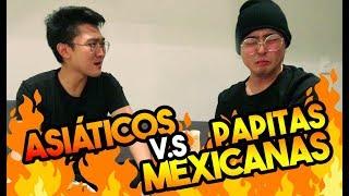 Probando las PAPAS MÁS PICANTES de MÉXICO | kenroVlogs ft. Coreano Vlogs