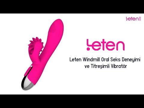 Leten Windmill Oral Seks Deneyimi ve Titreşimli Vibratör