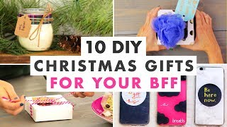 10 Christmas Gifts To Make For Your Best Friend This Holiday