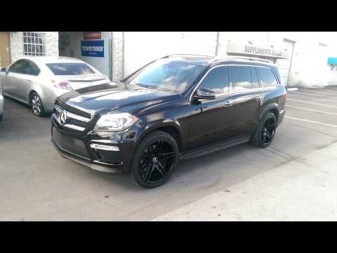 DUBSandTIRES.com 22 Inch XO Caracas Concave Black Rims Mercedes ML550 Wheels Miami