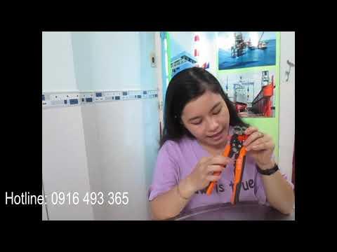 Kềm Tuốt Dây Điện Đa Năng Retta RKS0165 - Hàng Chính Hãng