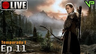 SKYRIM - Legolas Role Play! (PC - Mods - PTBR) Temporada 1 - Ep.11