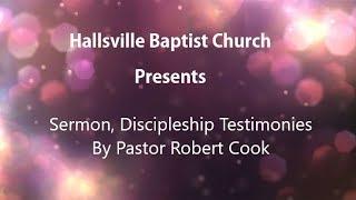Sermon, Discipleship Testimonies