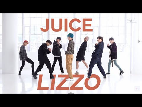 bts dancing to juice by lizzo