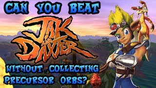 VG Myths - Can You Beat Jak and Daxter Without Collecting Any Orbs?