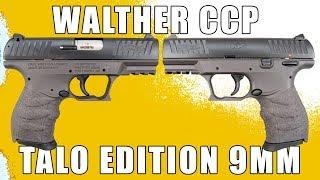 Walther CCP TALO Edition 9mm Tungsten Grey - 5080305
