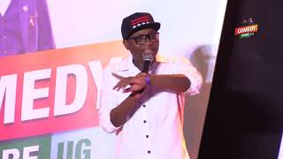 Alex Muhangi Comedy Store Dec 2018   The Talkers