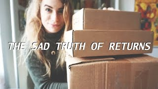 Watch this before returning your clothes // what happens when you return online purchases?