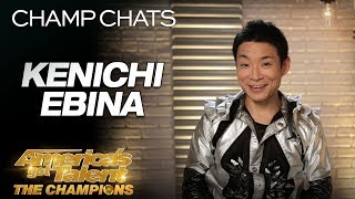 Kenichi Ebina Breaks Down His Projection Act On AGT - America's Got Talent: The Champions thumbnail