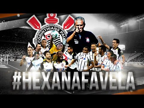 #HexaNaFavela | Registro oficial do título