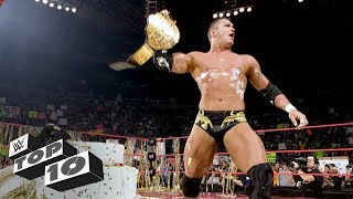 Championship celebrations gone wrong: WWE Top 10