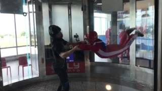 Indoor skydiving ridiculousness (the last 30 seconds are the best)
