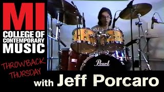 Jeff Porcaro Throwback Thursday from the MI Vault