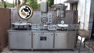 Versatile Micro Injectable Dry Powder Filling Machine With Rubber Stopper
