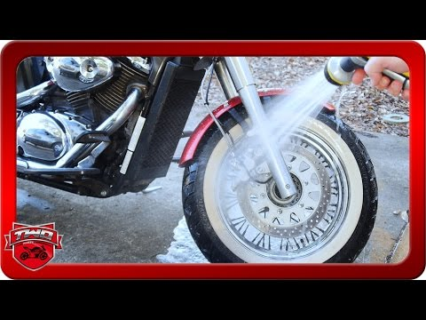 How To Wash Whitewall Motorcycle Tires And Wheels Safely