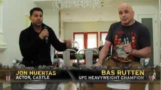 Injustice Battle Arena Celebrity Experts: Jon Huertas and Bas Rutten