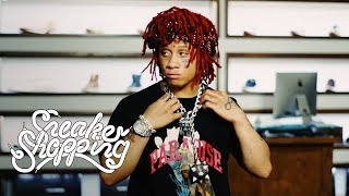 Trippie Redd Goes Sneaker Shopping With Complex