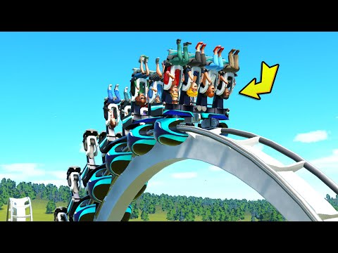 Will People ACTUALLY Ride This..? (Planet Coaster Campaign)