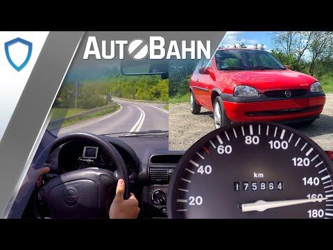 Opel Corsa B 1.0 12V - Autobahn Vmax 160 km/h