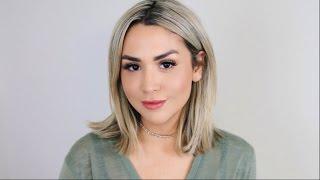 Alex Garza: Glowy Look Tutorial & Makeup Tips