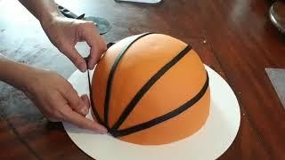 Basketball Cake!/pastel De Basketball