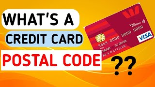 What's a credit card postal code? #harryviral