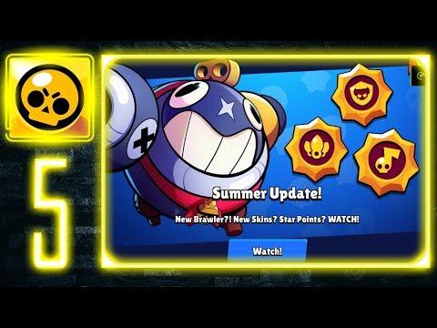 Brawl Stars - Gameplay Walkthrough Part 5 - New Update 19.102 / New Brawler Tick
