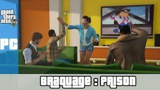 Les Braquassés : Sortie de Prison (GTA 5 PC Funny Moments)
