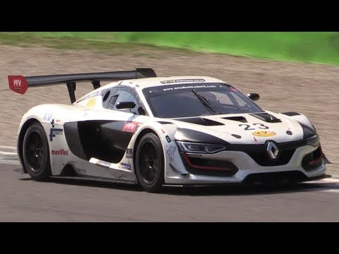 Renault R.S.01 GT3 Testing at Monza Circuit-One of the Best Sounding GT Cars Nowadays