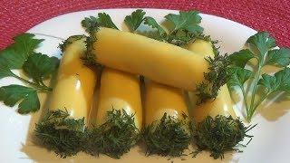 Нежные сырные рулетики покорят своим вкусом Вас и ваших гостей