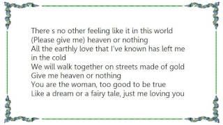 Barren Cross - Heaven or Nothing Lyrics