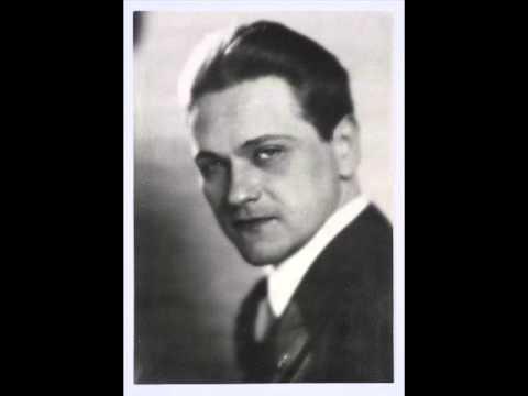 Eugeniusz Bodo - Co temu winien Zygmuś, że jest taki śliczny (1931)