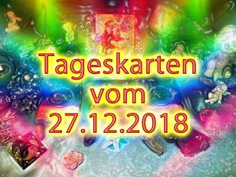Tageskarten vom 27.12.2018 3. Raunacht (видео)