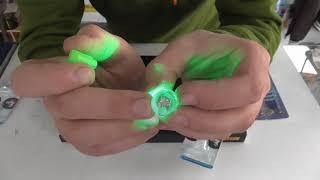 Световой сигнализатор поклевки для жерлиц