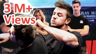 KRAV MAGA TRAINING • How to block Hook Punches in a Street Fight