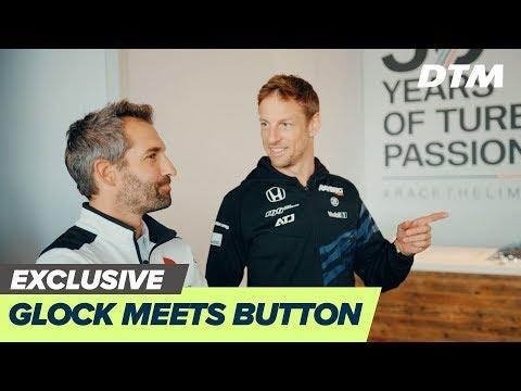 Timo Glock vs Jenson Button   DTM Exclusive