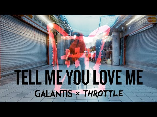 Tell Me You Love Me  (Feat Throttle) - GALANTIS